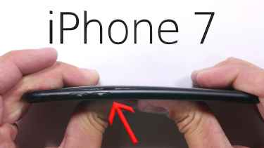 iPhone 7 Scratch and Bend Test Video