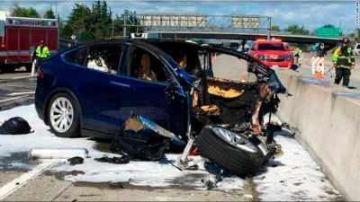 Tesla Model X was in autopilot before fatal crash