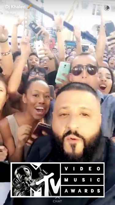 DJ Khaled killing it on the #VMA's #DJKhaled305