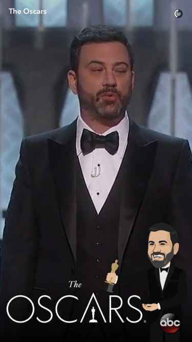 #Oscars2017: Jimmy Kimmel hosts the Oscars...