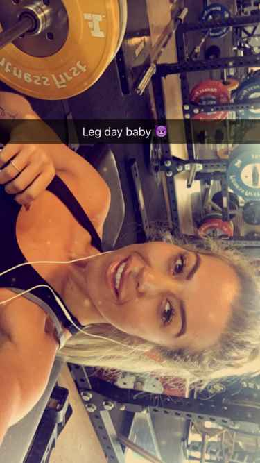 Leg day baby #workout #fitness