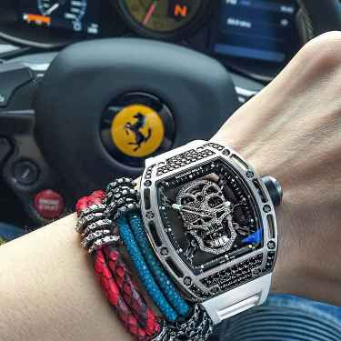 #RichKidsOfInstagram: Sean Perelstein's Richard Mille Tourbillon behind the Ferrari wheels