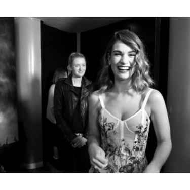 Lily James' infectious smile 😄