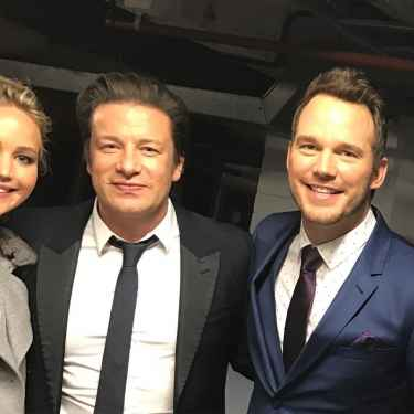 Here's another photo of Jennifer with Chris