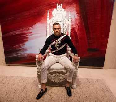 Conor McGregor is on Instagram... it's @thenotoriousmma ... click -->