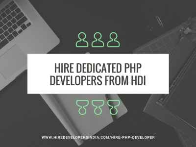 Improve your website by hiring the dedicated PHP developers' team from HDI. #HirePhpDevelopersIndia #Php #HDI