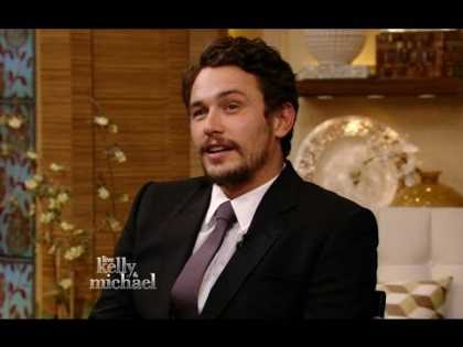 James Franco talks about the #instagram scandal on 'Live with Kelly and Michael'