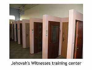Jehovah's Witness training center #funny