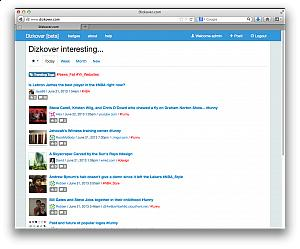 Dizkover.com - Discover interesting stuffs online #Yii_Websites