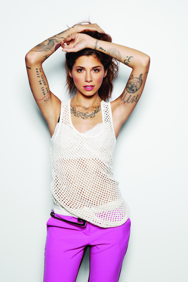 I love #ChristinaPerri, I love her #tattoos, I love her #edgy style