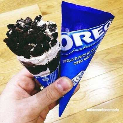 I need to know where I can get this oreo ice cream cone. I don't see this in my supermarket...