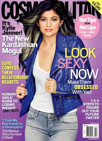 Kylie Jenner On Cosmopolitan Cover