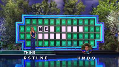 "#Lucky Wheel of Fortune contestant solves ""New Baby Buggy"" with only 2 given letters"