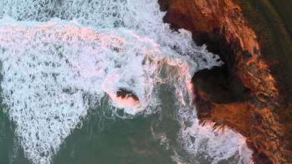 #Aerial film footage by the beach... check out the cliffs, birds, and waves... #amazing!