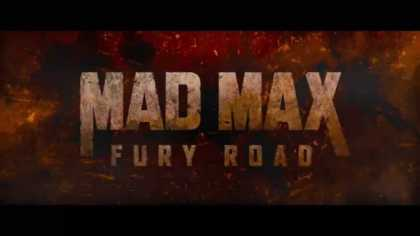 Mad Max: Fury Road | Official Teaser Trailer ... this looks like it's gonna be an awesome movie!
