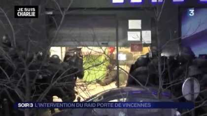 Raid On Supermarket That Killed The Paris Terrorists (Uncensored) #NSFW #GraphicContent