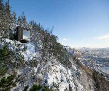 A mountain hut in Norway