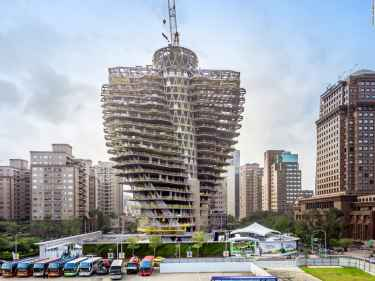 Taiwan's 'Tao Zhu Yin' Eco Architecture Absorbs Carbon Emission