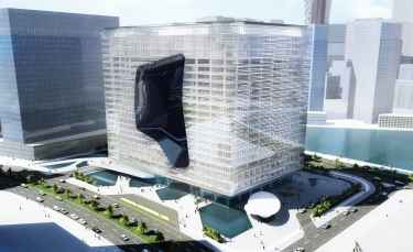 Zaha Hadid Architects: Opus Office Tower in Dubai