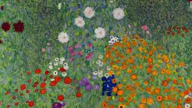 Gustav Klimt's 'Bauerngarten' sells for record $59.3m