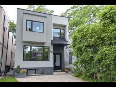 A Modern Home in Queensbury Avenue Toronto Open House Video Tour