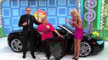 Contestant Won An Audi R8 V8 Spyder Worth $150k At 'The Price Is Right' Game Show... #Awesome!