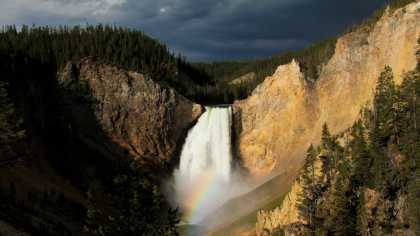 The Canyon and the Rainbow by Christopher Cauble