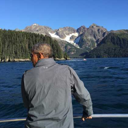 President Barack Obama Posted Several Photos From Alaska To Make Everyone Jealous