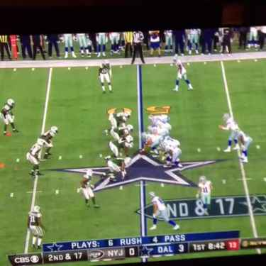 Matt Cassel Throws The Worst Interception In Cowboys' History