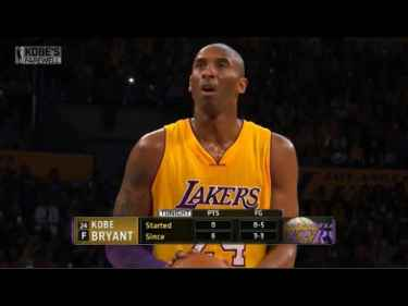 Kobe Bryant Last Game 60 Points Highlights
