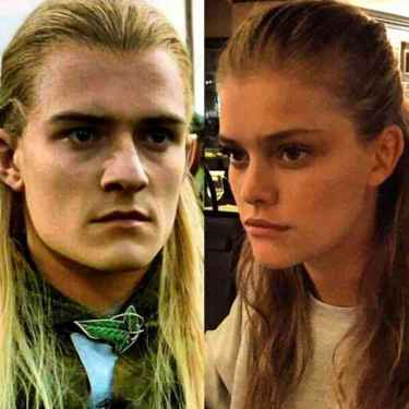 When you try to do your hair like Ariana Grande and you end up looking like Legolas