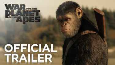 'War for the Planet of the Apes' official trailer starring Woody Harrelson and Andy Serkis