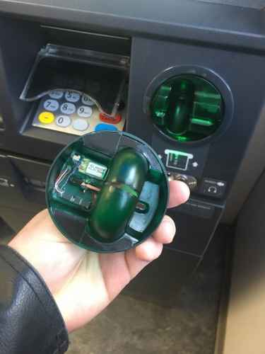 #TIP: When you use the ATM, wiggle the card reader, it might have been hacked to steal your credit card information