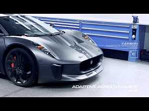 The #Jaguar C-X75 Prototype | #cars