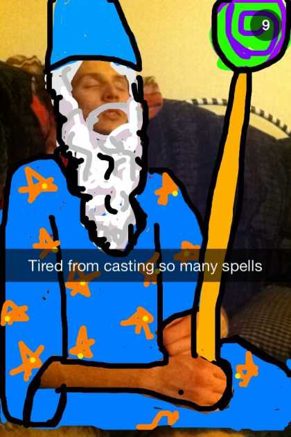 "#BestSnaps: on Snapchat.... ""You shall not pass!"""