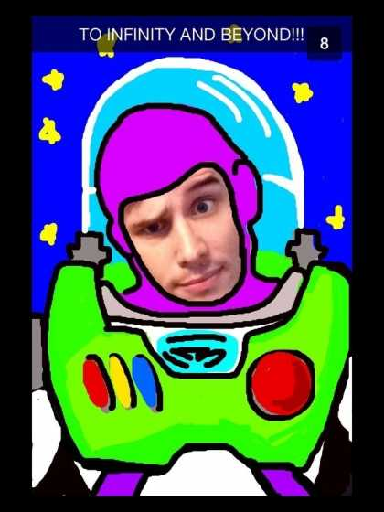 #BestSnaps: Buzz Lightyear... to the infinity and beyond!
