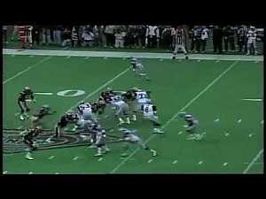 #Sports: #NFL: Larry Allen, weight 325 lbs, running down a linebacker...