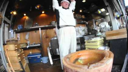 Japan's Fastest Mochi Making!