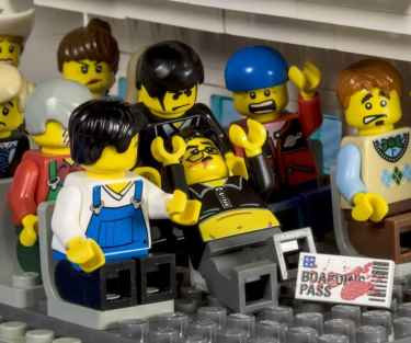 United Airlines: Lego Edition