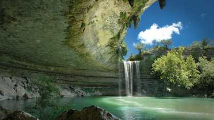 Hamilton Pool near Austin Texas