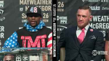 Mayweather vs McGregor Press Conference Kicks Off in Los Angeles