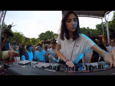 Amelie Lens @ LaPlage de Glazart for Cercle #TechHouse #House #FemaleDJs