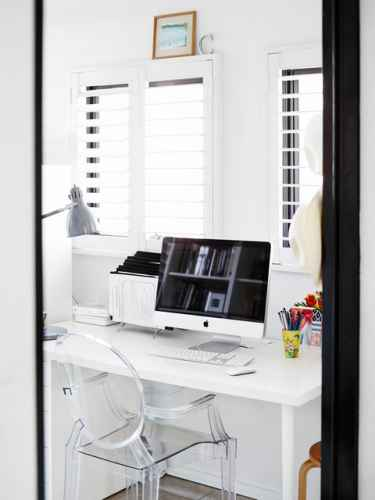 White Home Office Inspiration