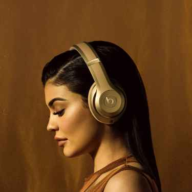 Kylie Jenner Is the Face of Beats/Balmain Collection