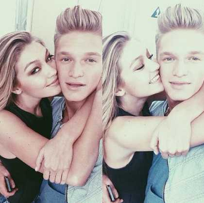 More Gigi Hadid + Cody Simpson = <3