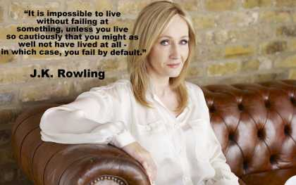 J.K. Rowling on Failure
