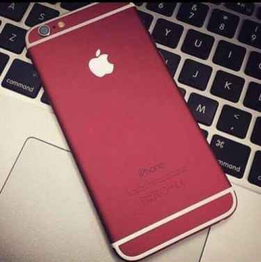 Red iPhone 6 Plus