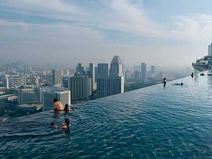 I'm just gonna go swimming... | #travel #singapore
