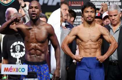 Manny Pacquiao and Floyd Mayweather agree $250m Las Vegas mega-fight