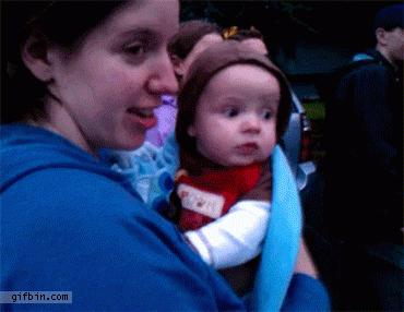 Baby's First Time Seeing Fireworks | #funny